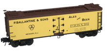 Atlas O Ballantine Beer 40' wood reefer, 3 rail or 2 rail