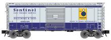 Atlas O B&O (sentinel) 40' steel box car,  3 rail or 2 rail