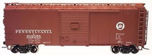 Atlas O PRR (circle keystone) 40' steel box car,  3 rail or 2 rail