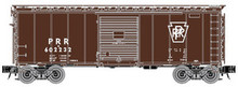 Atlas O PRR (plain keystone) 40' steel box car,  3 rail or 2 rail