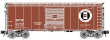Atlas O Special run Buffalo Creek  40' steel box car,  3 rail or 2 rail