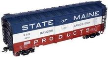 Atlas O BAR  40' steel box car,  3 rail or 2 rail