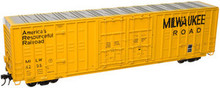 Atlas O MILW 60' Hy-cube  box car,  3 rail or 2 rail
