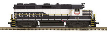 MTH Premier GM&O GP-35  diesel, 2 rail, p2.0, sound, cruise, exhaust
