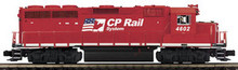 MTH Premier CP Rail GP-40  diesel, 2 rail,  p2.0, sound, cruise, exhaust