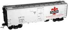 Atlas O Dubuque (white)  40' steel reefer, 3 rail or 2 rail