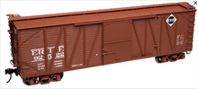 Atlas O Erie 40' single sheathed box car, 3 or 2 rail