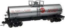 Atlas O Barrett Chemical  11,000 gallon  tank car, 3 or 2 rail