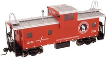 Atlas O GN  Extended Vision caboose, 3 rail