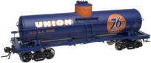 Atlas O Union 76 Oil 8000 gallon tank car, 3 rail or 2 rail