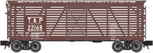 Atlas O T&P 40' stock car, 3 rail or 2 rail