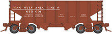 Atlas O PA Lines USRA 2 bay hopper, early scheme