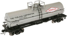 Atlas O Fuelgas 11k tank car, 3 rail or 2 rail