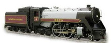 Weaver Brass CP Jubilee steam loco, 3 rail, tmcc