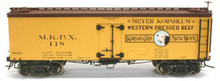Atlas O  Meyer Kornblum  36' wood reefer,  3 rail or 2 rail