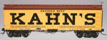 Atlas O  Kahn's  36' wood reefer,  3 rail or 2 rail