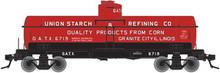 Atlas O Union Starch 8000 gallon tank car, 3 rail or 2 rail