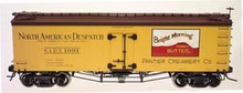 Atlas O Bright Morning Butter 36'  reefer, 3 or 2 rail