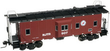 Atlas O  NJT   Bay window caboose,  3 rail