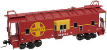 Atlas O Santa Fe  Bay window caboose,  3 rail