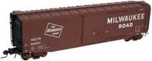 Atlas O MILW 50'  box car, 3 or 2 rail