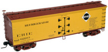 Atlas O  Erie  40' wood reefer (version 2), 3 rail or 2 rail