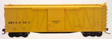 Atlas O MW (Ylw) 40' single sheathed box car