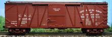Atlas O CNJ 40' single sheathed box car, 3rail or 2rail