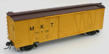 Atlas O MKT  40' single sheathed box car, 3 or 2 rail