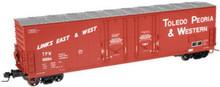 Atlas O TP&W  53'  DD box car, 3 rail or 2 rail