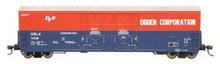 Atlas O Ogden Corp 53'  DD box car, 3 rail or 2 rail