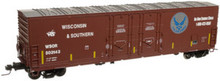 Atlas O WSOR Air Force 50'  DD box car, 3 rail