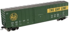 Atlas O ASAB  50' box car, 3 or 2 rail