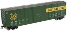 Atlas O ASAB  50' box car, 3 or 2 rail