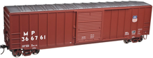 Atlas O UP/MP  50' box car, 3 or 2 rail
