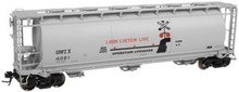 Atlas O G&W (Operation Lifesaver) Cov Hopper, 3 rail