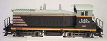 Atlas O  C&S/CBQ/ATSF SW-9  diesel, 3 rail, non-powered