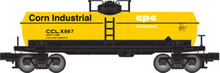 Atlas O Industrial Rail Corn Prod tank car, 3 rail, 027