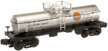 Atlas O Industrial Rail Gulf tank car, 3 rail, 027