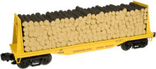 Atlas O Industrial Rail UP pulp  Flat car, 3 rail, 027