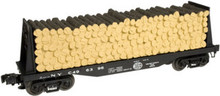 Atlas O Industrial Rail NYC pulp  Flat car, 3 rail, 027