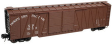 Atlas O NP 50' single sheathed box car, 3 or 2 rail