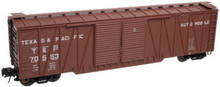 Atlas O T&P 50' single sheathed box car, 3 or 2 rail