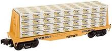 Atlas O  Industrial Rail TTX  Flat car, 3 rail, 027