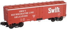 Atlas O  Industrial Rail Swift  reefer, 3 rail, 027