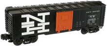 Atlas O Industrial Rail NH (blk)  box car, 3 rail, 027