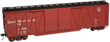 Atlas O GN  50' single sheathed box car, 3 or 2 rail