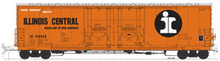Atlas O Illinois Central 50'  DD box car, 3 or 2 rail
