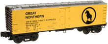 Atlas O Industrial Rail GN reefer, 3 rail,  027