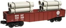 Atlas O Industrial Rail BNSF  gondola, 3 rail, 027